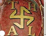 Lo stemma voluto nel 1869 dall'abate di LAmbach
