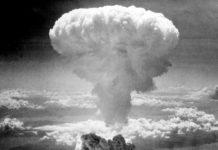 Il fungo atomico su Nagasaki, 9 agosto 1945