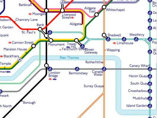 Cartina Londra Tube.La Nuova Mappa Della Metropolitana Di Londra L Italoeuropeo