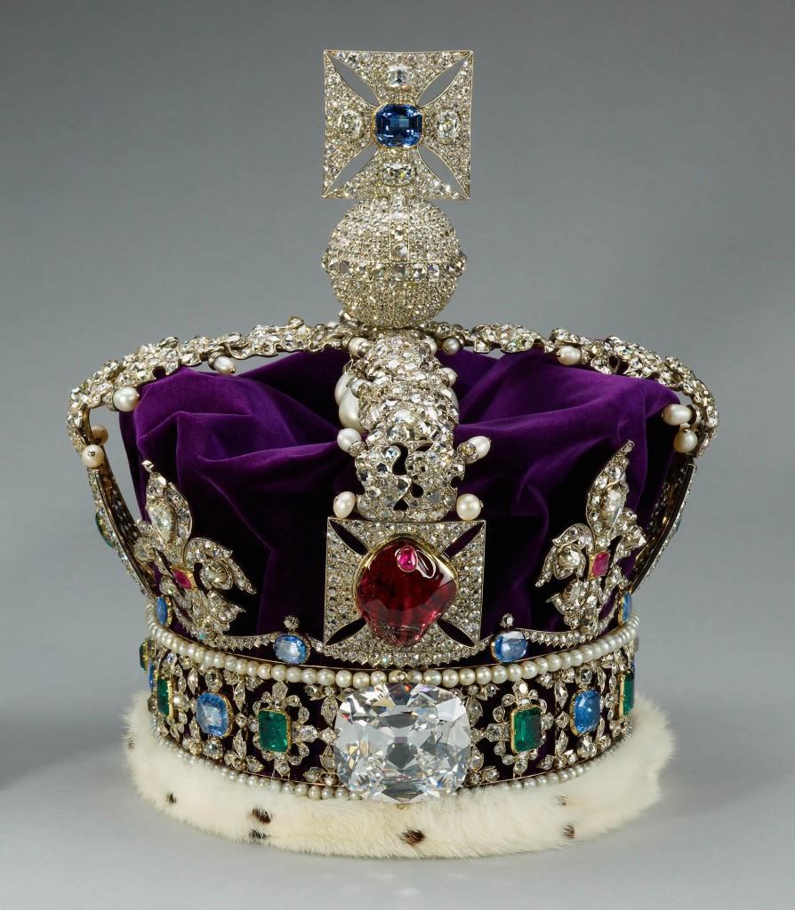 Eccezionale L'incredibile storia del diamante della corona Reale di Sua Maesta  LZ08