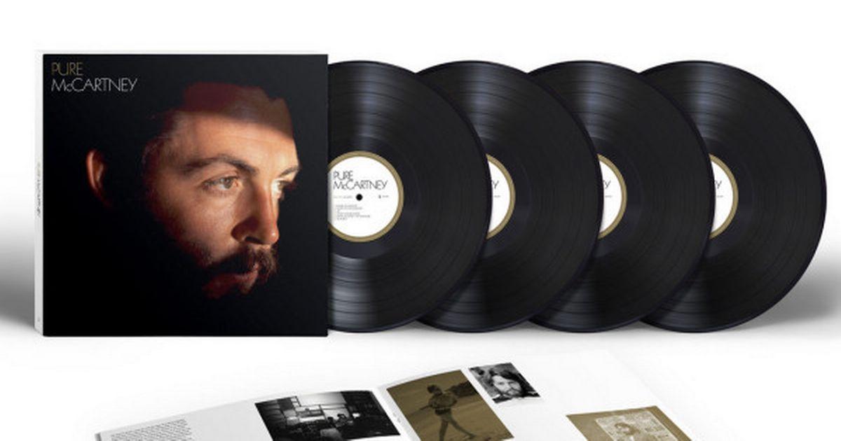 """La copertina del vinile """"Pure McCartney"""""""