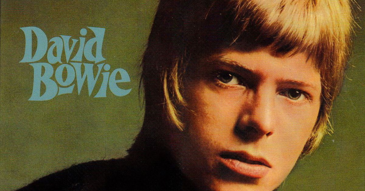 La cover dell'album di debutto di David Bowie, firmata da Fearnley