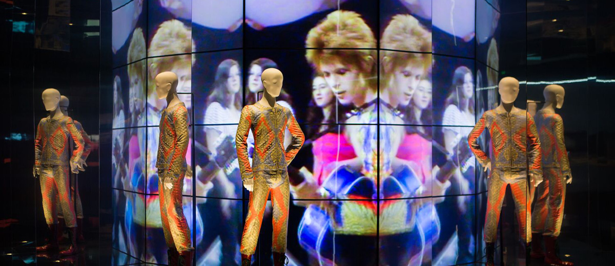 "Un'immagine tratta dalla mostra ""David Bowie Is"", ora a Bologna"