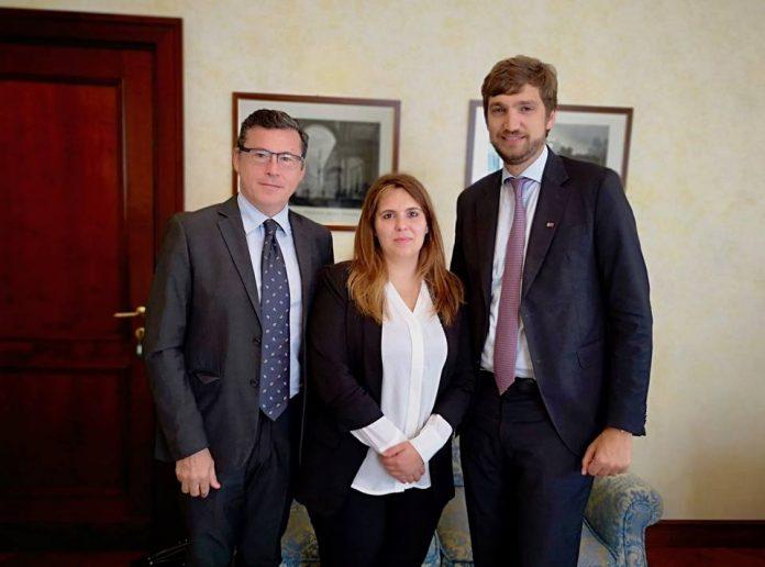sen.Raffaele Fantetti, on.Elisa Siragusa, on.Massimo Ungaro