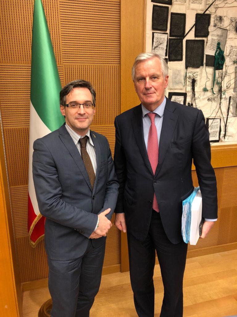On. Billi con Barnier