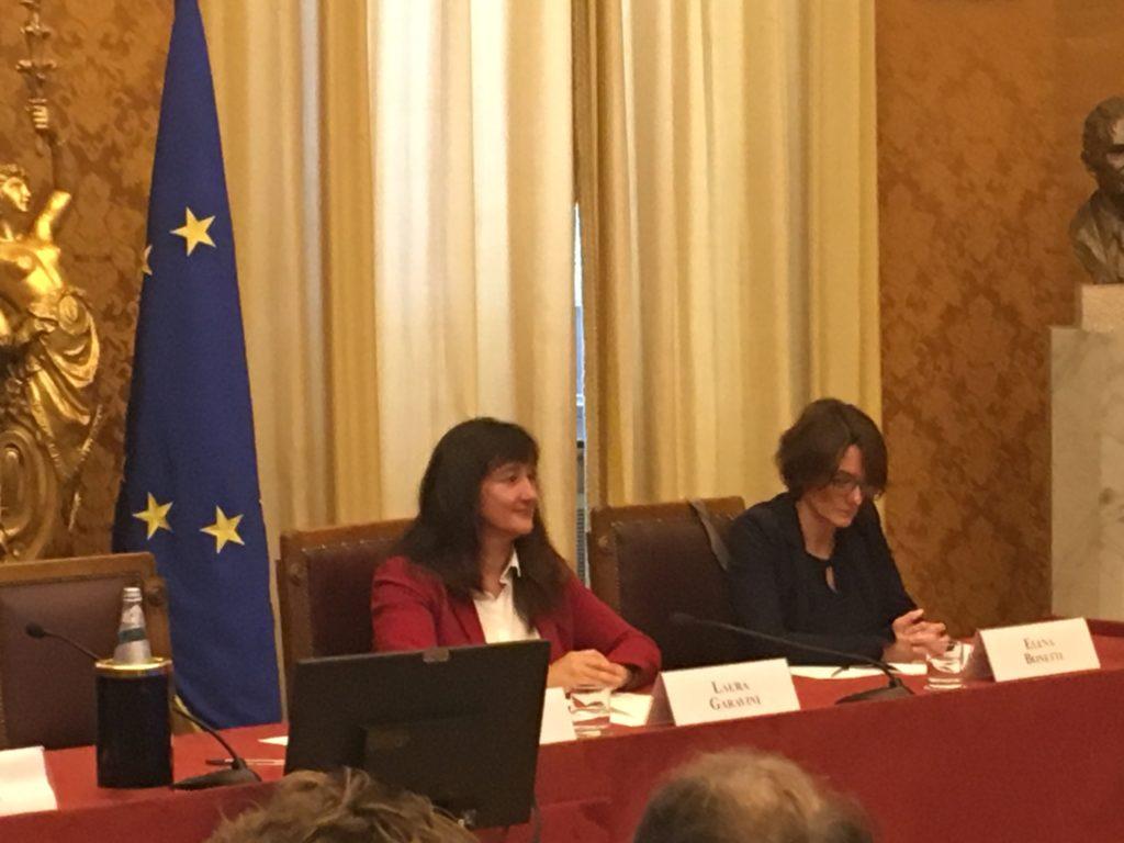 La Senatrice Garavini e il ministro Bonetti