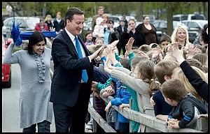 Gran Bretagna, Cameron in testa ma senza maggioranza assoluta